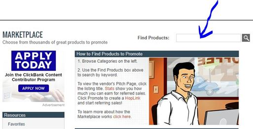 ClickBank-Basic-Search-Find-Products2