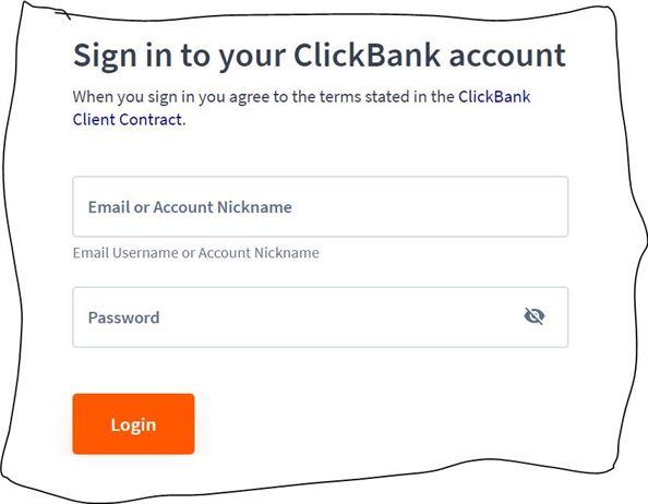 ClickBank-login